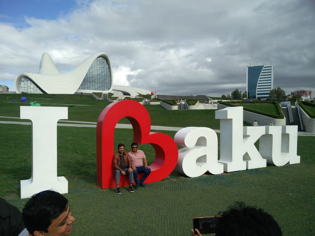 LAST DAY AT BAKU TRIP